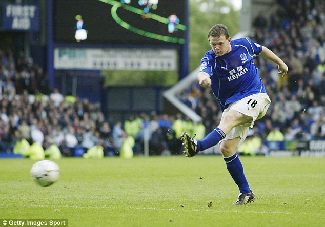 Snapped up: Manchester United quickly bought Wayne Rooney after he was developed by Everton