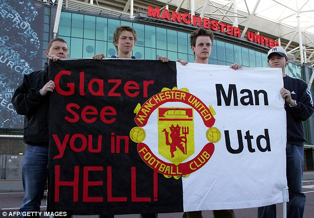 Hardly financial fair play: But the Glazers continue to get away with their running of Old Trafford