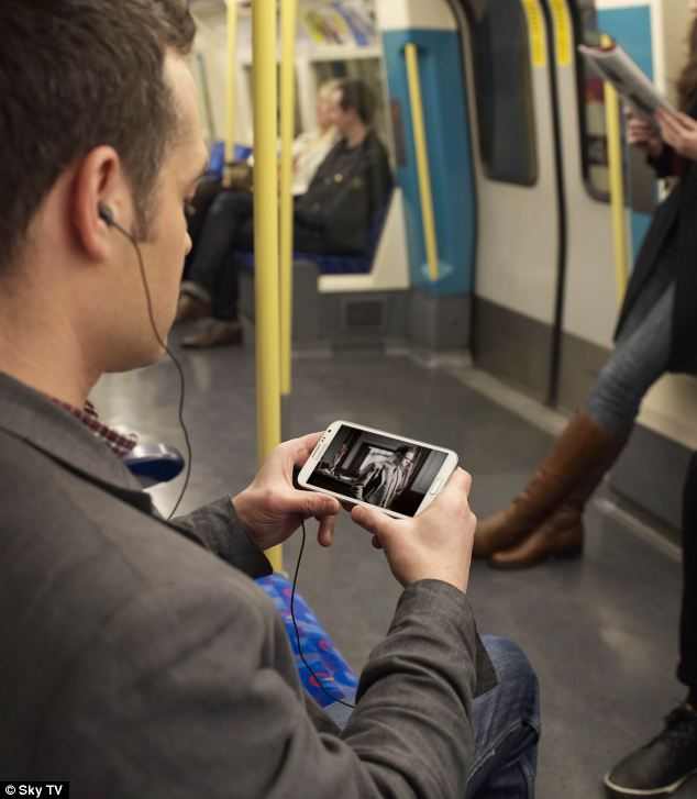 The broadcaster said it expects the Sky Go Extra to be popular with commuters