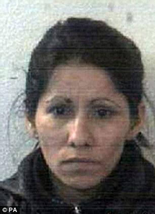 Slovakian Kristina Popikova was jailed for one year