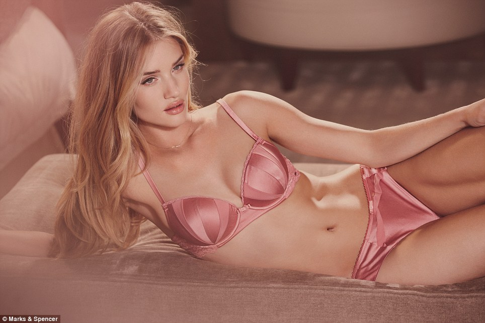Rosie put softness and romance at the very top of her creative agenda for this collection