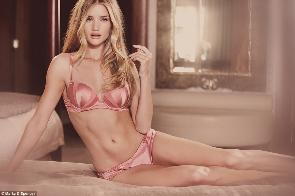 Rosie's signature silk pad bra, kimono wrap and chemise set have all been reworked in gorgeous new colours and prints