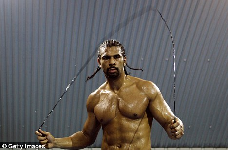 Comeback: David Haye is set to be granted a British boxing licence