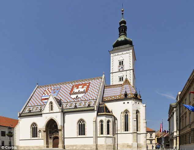 St Mark¿s Church, Zagreb