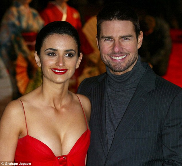 Split: The actor's three year romance with Spanish starlet Penelope Cruz ended in 2007