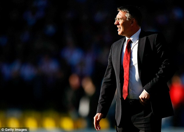 Sacked: Nigel Adkins was dismissed by Southampton despite their recent run of impressive form