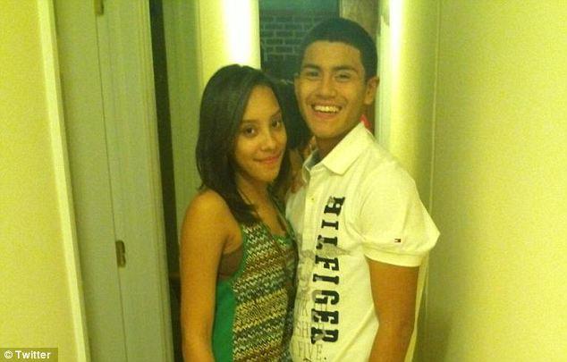 Heartbroken: Colon's boyfriend Joseph Baez (pictured) sobbed as he described his beautiful, outgoing girlfriend who was murdered Jan. 17