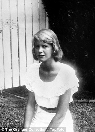 Sylvia, pictured, was known as 'boy crazy', even as a teenager