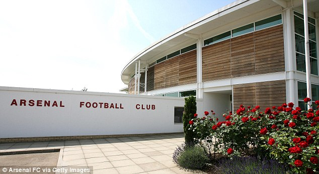 Behind the scenes: A fan was given a tour of the training complex, apparently by the club doctor