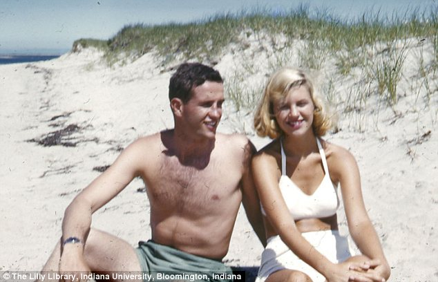 A sun-loving Sylvia Plath, likely to be pictured in 1953, led a voracious sex life, according to a biography to coincide with the 50th anniversary of her death next month
