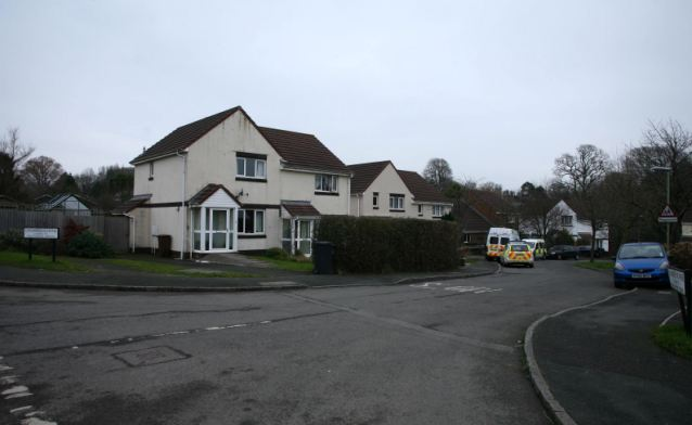 Response: Officers arrived at the house in Devon at 8.20am on Saturday morning