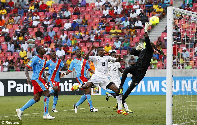 Here we go: Ghana and DR Congo helped spark the Africa Cup of Nations into life when they drew 2-2