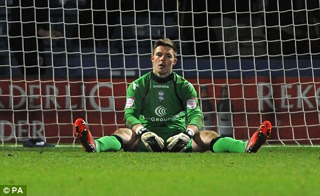 Target: Jack Butland is wanted by a number of Premier League clubs