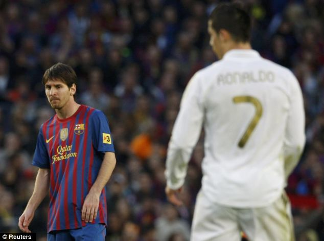 The world's best: But could Ronaldo and Messi have been team-mates?