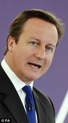 Ill-judged: David Cameron has made an open-ended commitment to back France's war in Mali