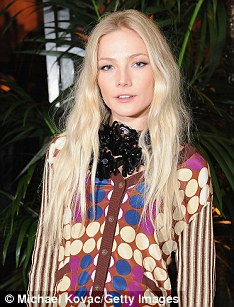 Clara Paget attends the Marni at H&M Collection Launch