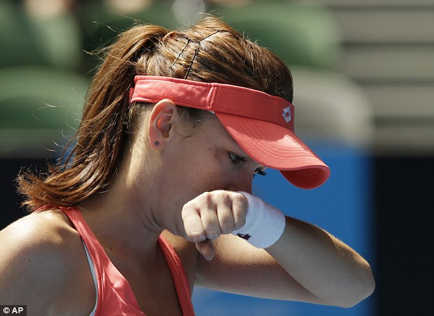 End of the road: Agnieszka Radwanska could not continue her winning run at the start of 2013