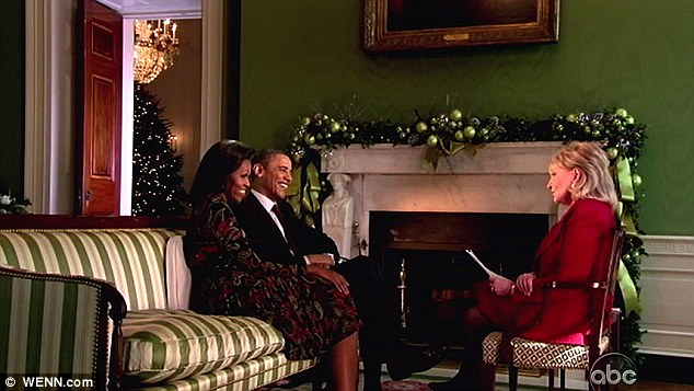 Friends in high places: Barbara Walters interviews President Obama and First Lady Michelle Obama in the White House in 2011