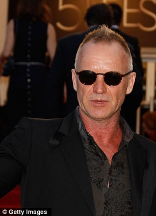 Sting has a house in Tuscany