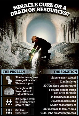 Thames super sewer: A miracle cure or a drain on resources?