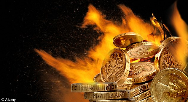 Money to burn: Some rates have been cut by a huge 0.55 percentage points after tax