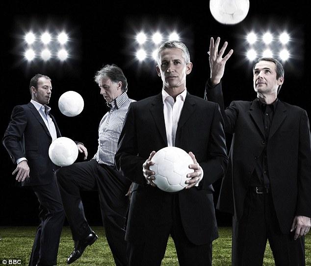 Primetime: Gray Lineker will keep his job on the BBC's flagship football programme