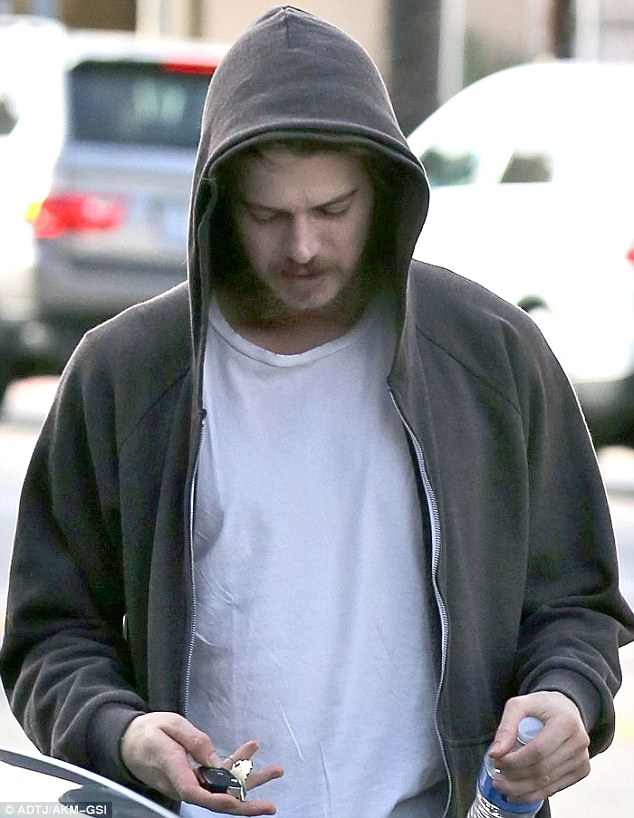 Use the razor Anakin: Star Wars actor Hayden Christensen showed off his facial hair in Los Angeles on Tuesday