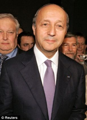 French foreign minister Laurent Fabius ridiculed Mr Cameron's speech