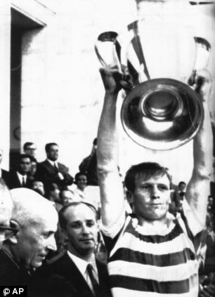 Great Briton: Billy McNeill of Celtic is the first British captain to lift the European Cup