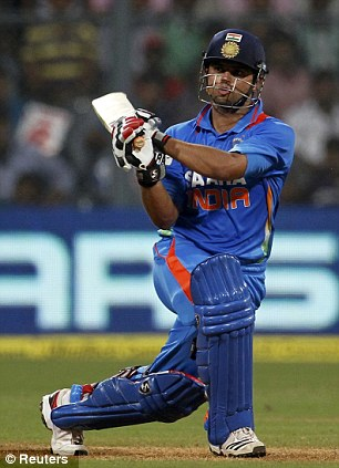 Matchwinner: India batsman Suresh Raina