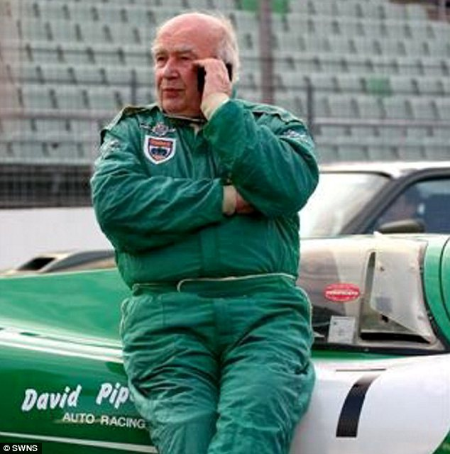 Legend: Mr Piper, now 82, drove for Formula One team Lotus in 1959 and 1960