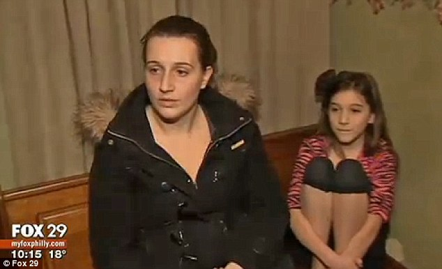 Dianna Kelly says staff at her daughter Melody's school overreacted when she was found with a paper gun