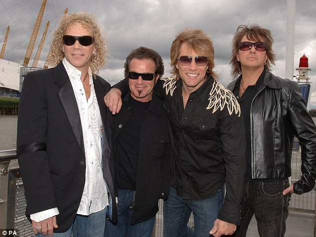 Headliners: Bon Jovi will headline Hyde Park's new Barclaycard British Summer Time Festival on July 5