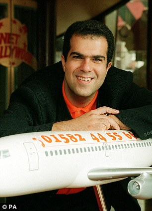 EasyJet founder: Sir Stelios Haji-Ioannou set up the budget airline in 1995 but resigned from its board in 2010 after clashing with management