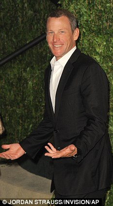No thanks: Lance Armstrong turned down a spot on Dancing With The Stars