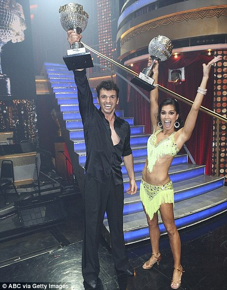 Winners: Last year Melissa Rycroft and Tony Dovolani won the show which Lance has refused to take part in