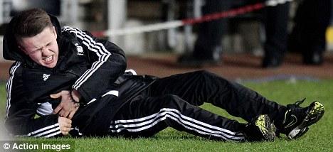 Good kid: Former Swansea manager Brendan Rodgers has defended ball boy Charlie Morgan