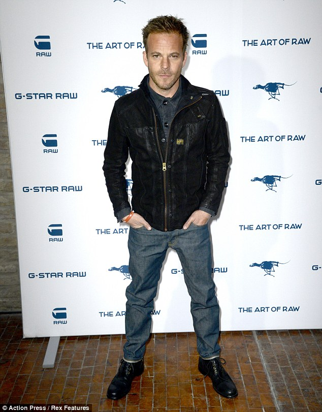 Better behaved: Stephen looked a bit more together when he was in Berlin for Fashion Week earlier in the month