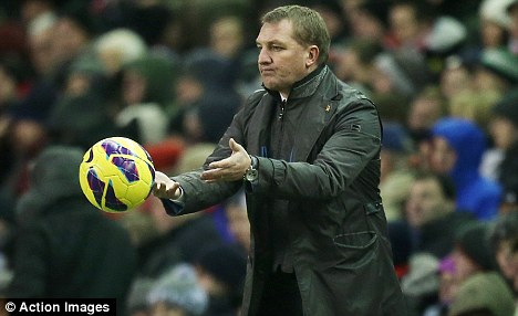 He must have forgotten this lesson! Rodgers, who says he taught the ball boy well, throws the ball back on to the pitch