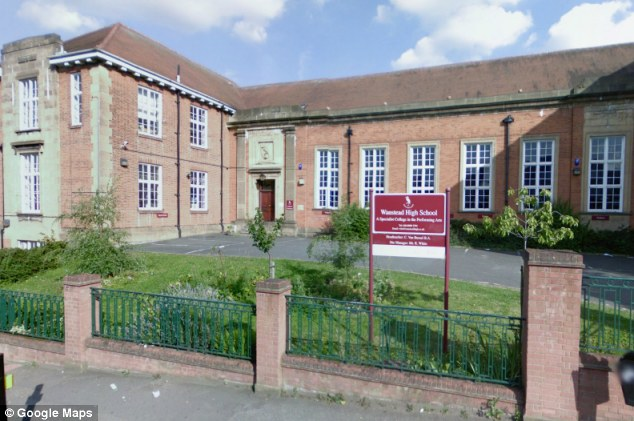 Disregarded: Head teachers at Wanstead High School repeatedly ignored warnings that paedophile Crombie sexually abused their pupils
