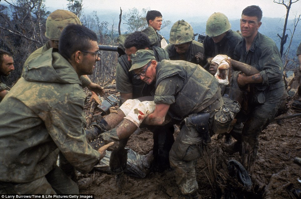 Mud, blood and horror: The brutality of the Vietnam War ...