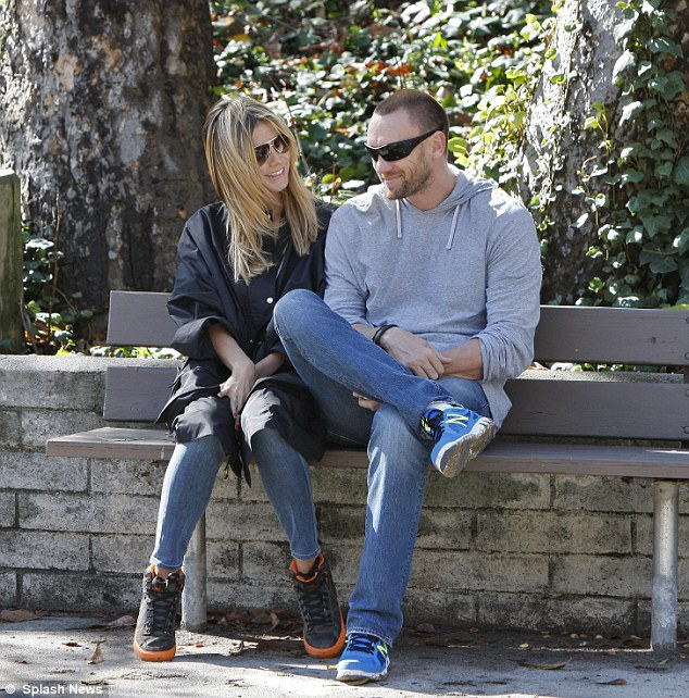 Her new man: Heidi has been dating her former bodyguard Martin Kristen since last spring