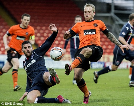 Replacement: Johnny Russell is a target for Crystal Palace