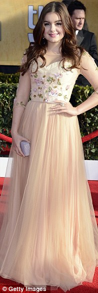 On a lighter note: Ariel Winter, Jayma Mays and  Vitalie Taittinger were pale and very interesting