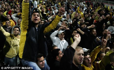 Three fans were arrested after they chanted anti-Muslim slogans during a Beitar Jerusalem game