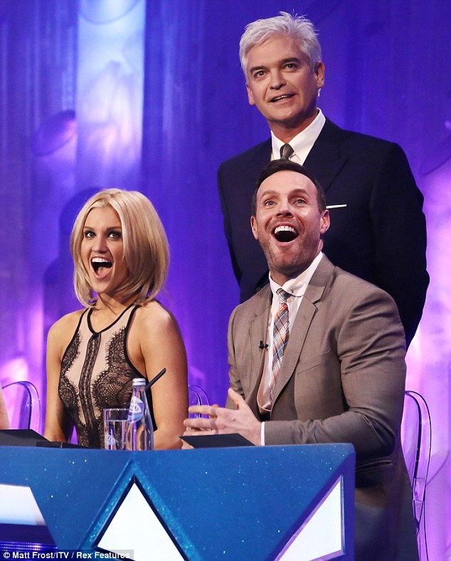 Bubbly blonde: She was, of course, much nicer to the contestants compared to fellow judge Jason Gardiner, known for his nasty judgement