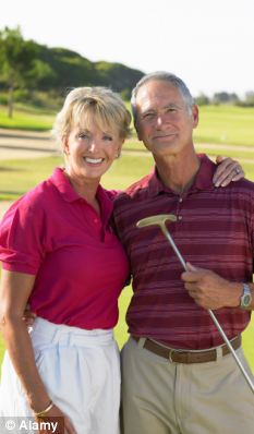 New stress: Middle age used to be a time to enjoy leisurely pursuits, but a study has found that an increase find themselves caring for two generations of family members
