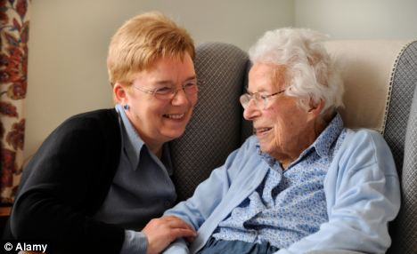 Care: The Oregon State University study found that middle-aged people had mixed feelings about having to care for elderly parents