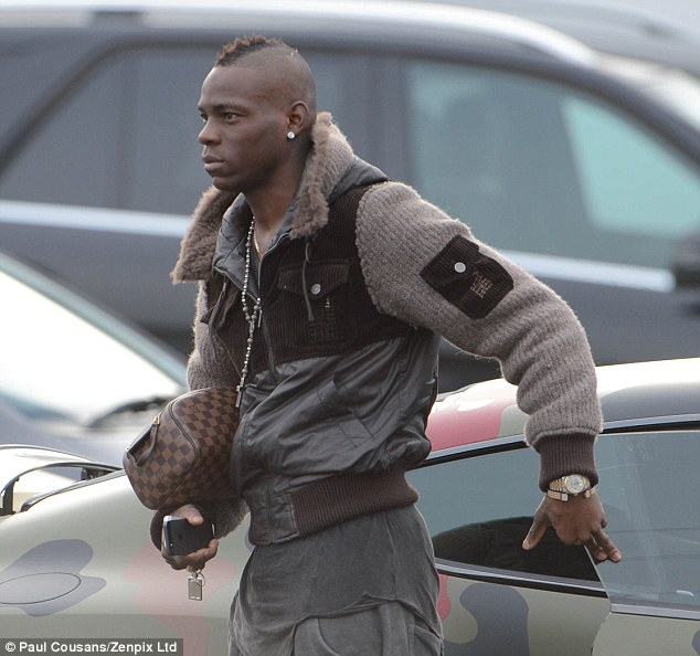 Milan return? Balotelli, who joined City from Inter Milan in 2010, could be set to join their cross-city rivals AC
