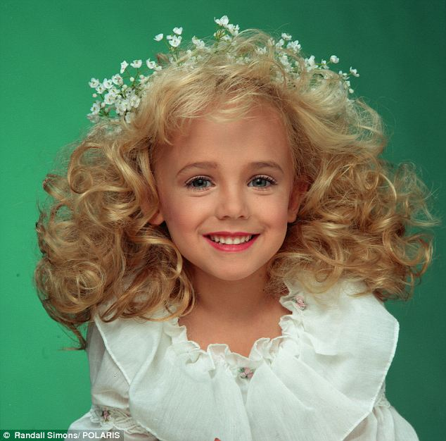 Unsolved: Six-year-old JonBenet was found bludgeoned and strangled to death in the basement of her home in Boulder, Colorado, on Christmas Day in 1996
